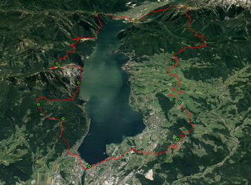 Bergmarathon Gmunden - seven mountains to glory